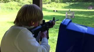 Rapid Fire machine gun AR-15