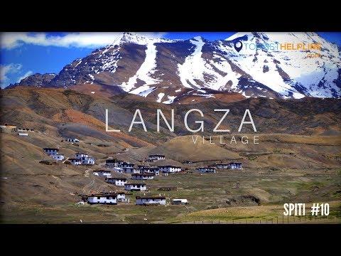 LANGZA VILLAGE : Spiti Bike Trip 2017