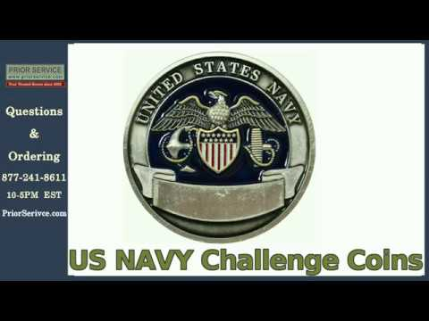 US Navy Challenge Coins | Prior Service