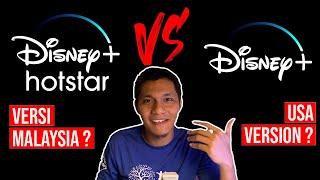 Disney Plus Hotstar (MY) VS Disney Plus (USA) | First Impression & Comparison