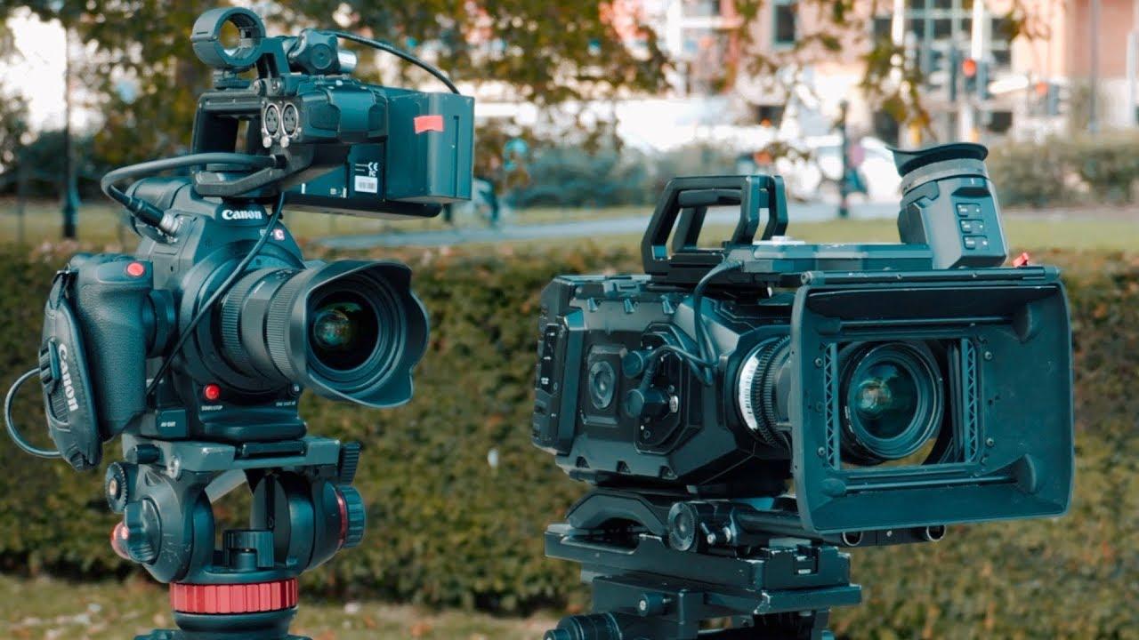 Canon C100 mark ii Vs Ursa Mini 4 6k | Cinema Camera Comparison