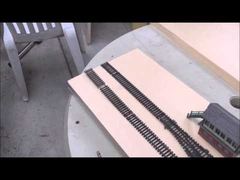 How to build a mini model railway layout – Part 1