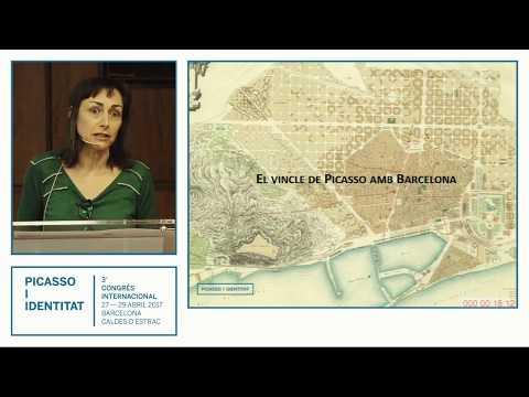 The bond of Picasso with Barcelona. Sílvia Domènech #PicassoIdentity