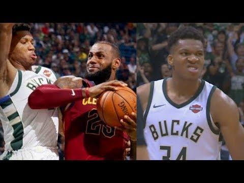 Download Youtube: LeBron James FINALLY MET HIS MATCH! LeBron James vs Giannis Antetokounmpo Duel