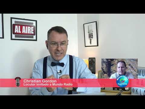 Christian Gordon en Mundo Radio