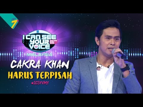 I Can See Your Voice Malaysia : Cakra Khan - Harus Terpisah | #ICSYVMY