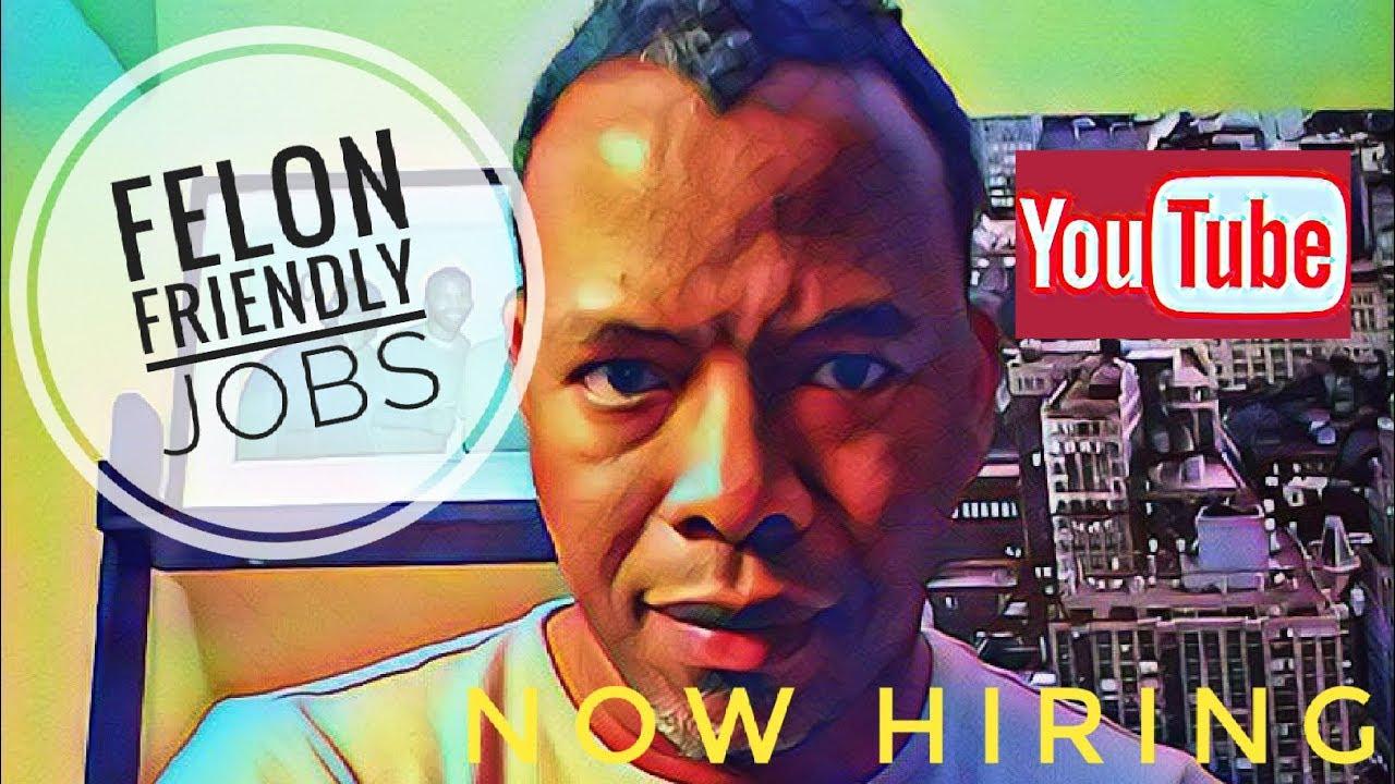 Felon Friendly Jobs Information Man Show