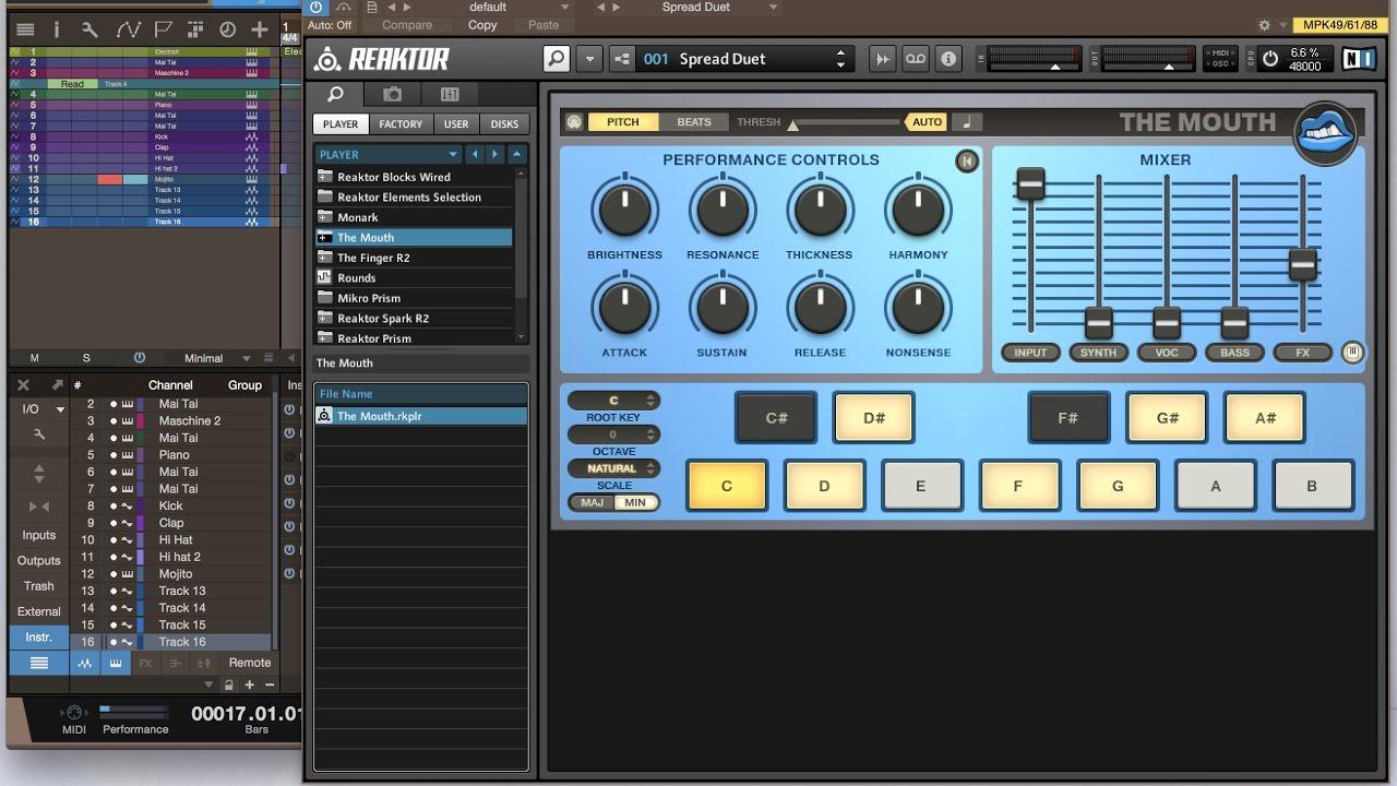 studio one autotune plugin