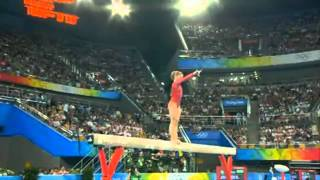 Shawn Johnson - Balance Beam - 2008 Olympics - All Around