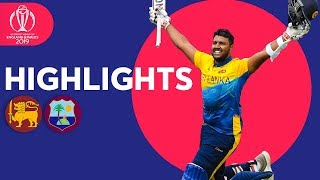 Fernando and Pooran Hit Maiden Tons | Sri Lanka v Windies - Highlights | ICC Cricket World Cup 2019