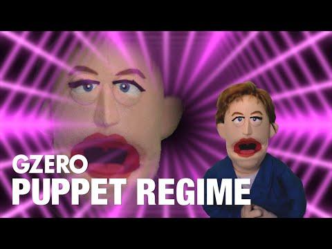 Angela Merkel's Farewell Song - Kraftwerk Mix   PUPPET REGIME   GZERO Media