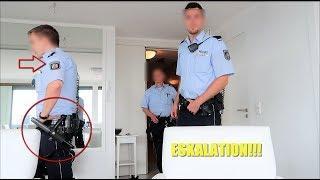 ESKALATION!!! POLIZEI KOMMT IN DIE WOHNUNG!!