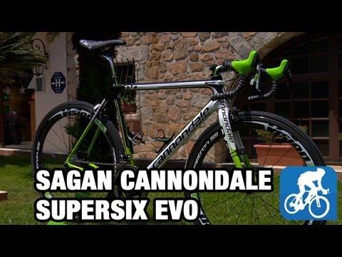 d9908ae157e Pro bike: Peter Sagan's Cannondale SuperSix EVO Hi-Mod 2013 (video) -  BikeRadar