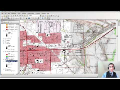 Examining DRGs and DOQs in ArcGIS and ArcGIS Online