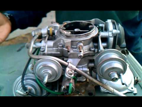 1998 Toyota Corolla Wiring Diagram For Starter Motor Solenoid Carburetor Help!! Problem! How To Clean - Youtube