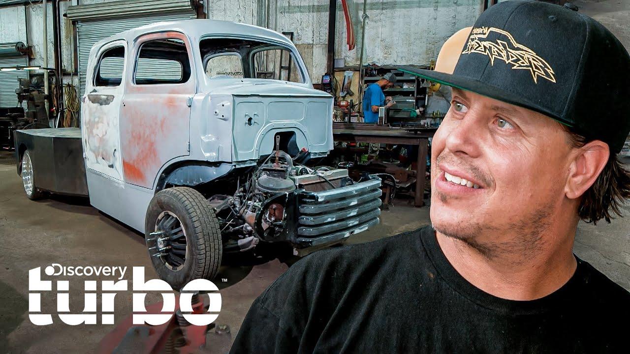 Diseño de un chasis de madera para camión Ford F-5 de 1950 | Texas Metal | Discovery Turbo