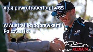 Vlog powrotroberta.pl #65 - Przed treningami - Williams z poprawkami