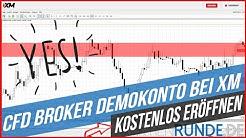 CFD Broker Demokonto bei XM   kostenlos eröffnen