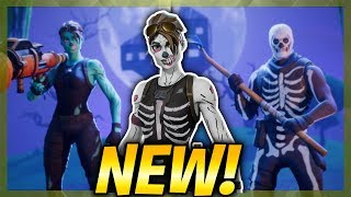 "FEMALE SKULL TROOPER CONFIRMED! ""Skull Ranger"" SKIN LEAKED! (Fortnite: Battle Royale)"