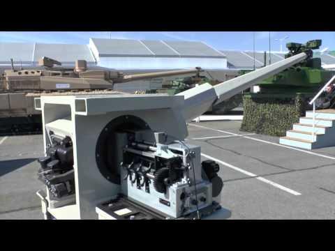 Eurosatory 2014 CTA International 40 Cased Telescoped Armament System (40 CTAS)