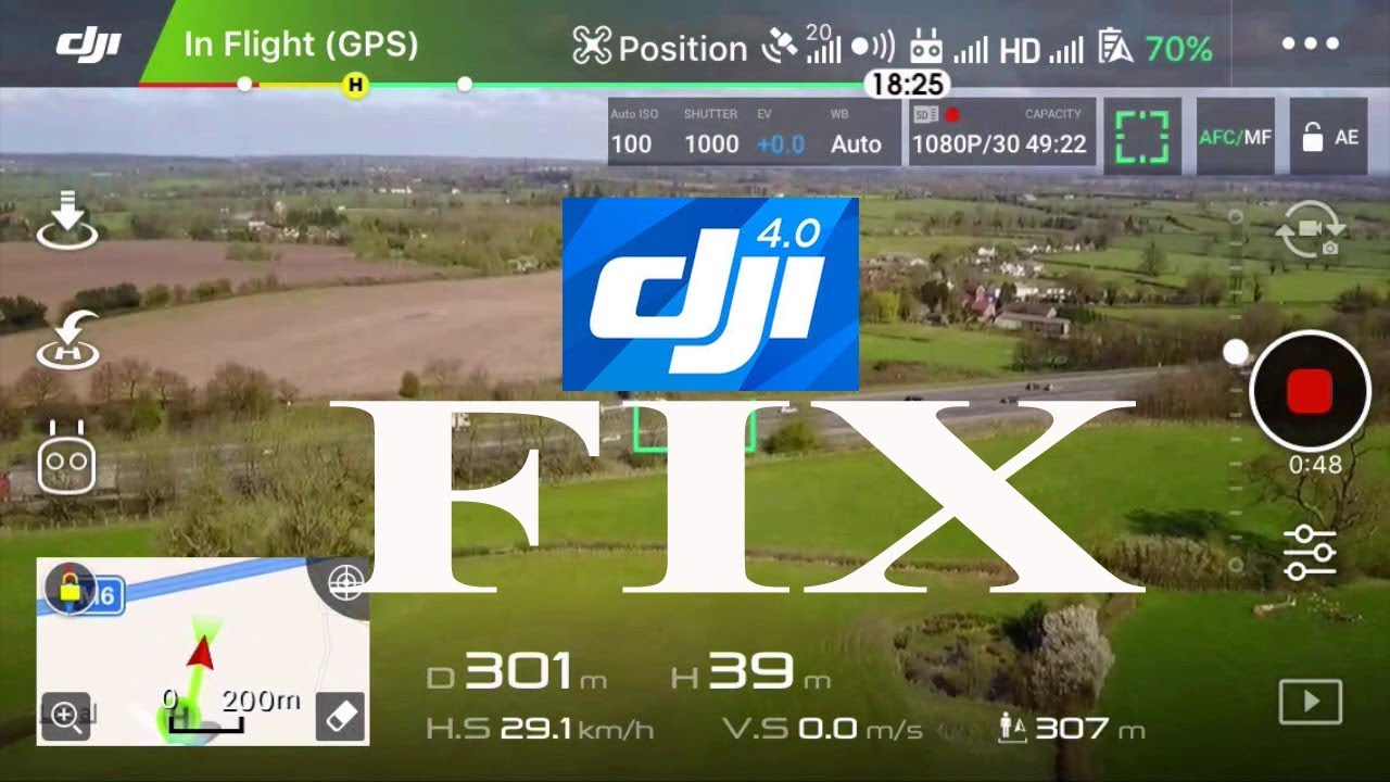 How to run DJI Go 4 app on Android smoothly