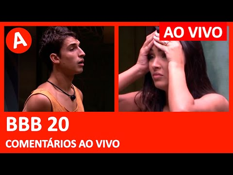 BBB 20 - PROVA DO ANJO + QUARTO BRANCO - 06/03/2020 - BIG BROTHER BRASIL - COMENTÁRIOS AO VIVO