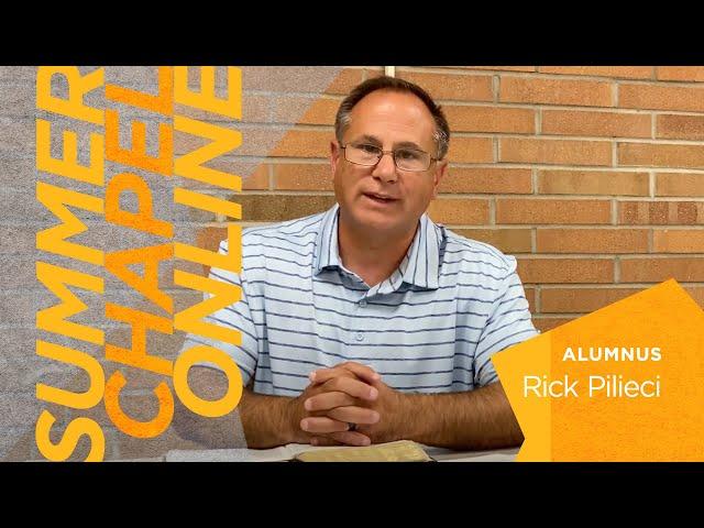 A Spirit of Wisdom & Revelation | Rick Pilieci