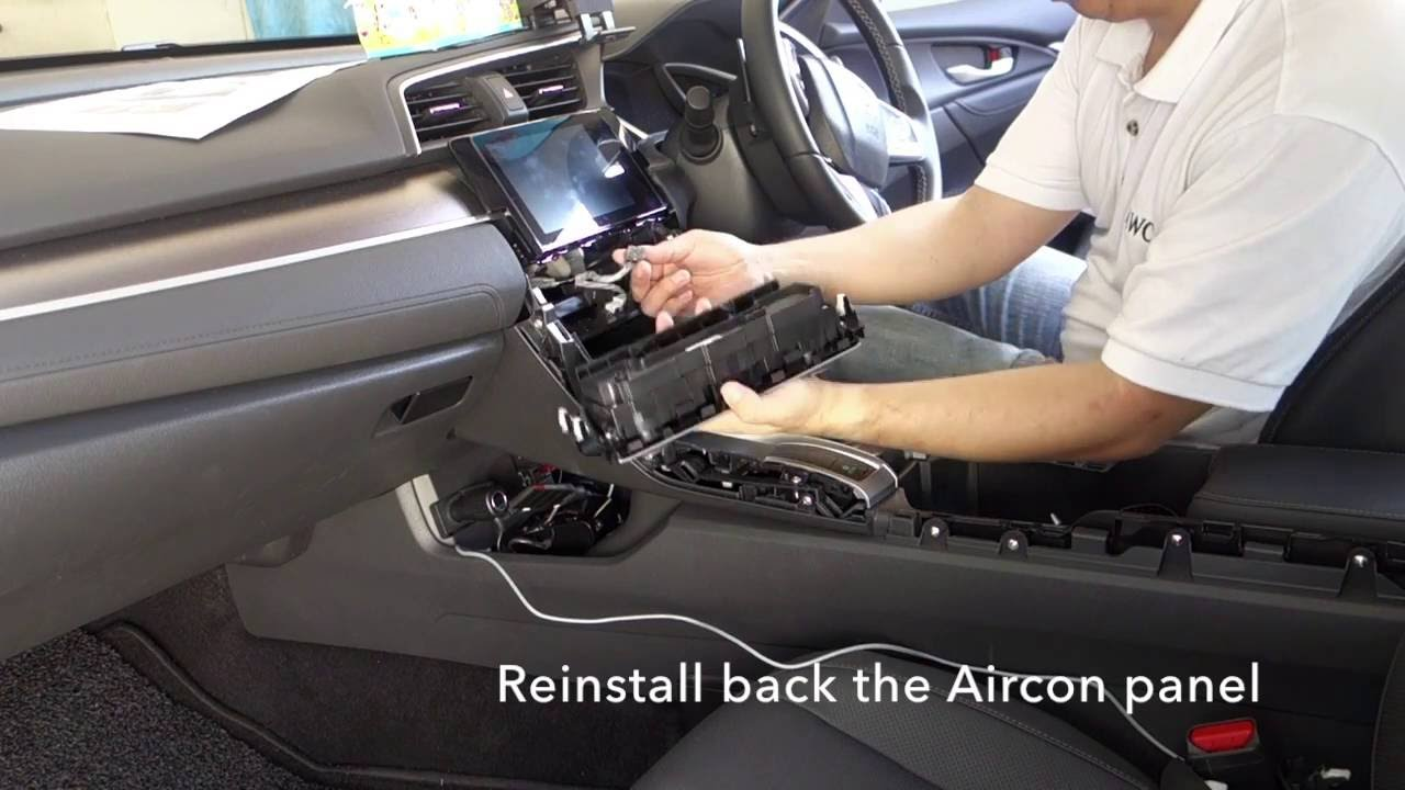 Honda Civic 2016 Parkbrake Bypass Cable Video In Motion