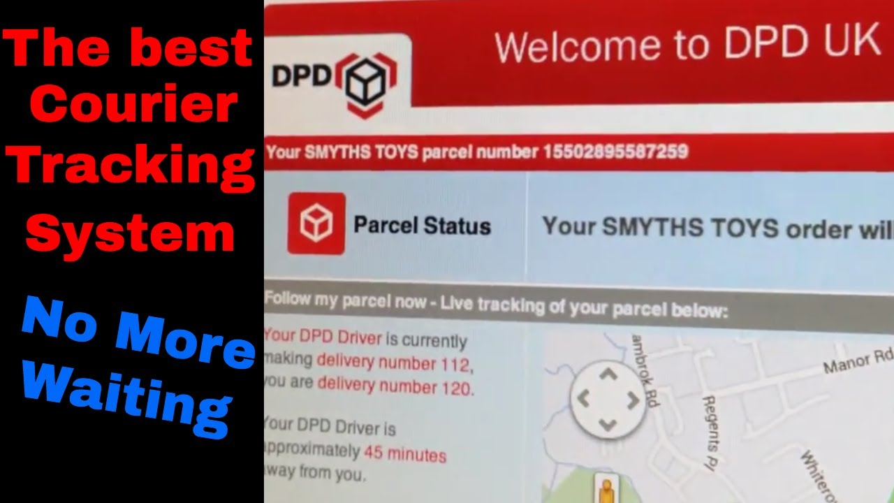 Courier Tracking Service DPD by Golden Solution