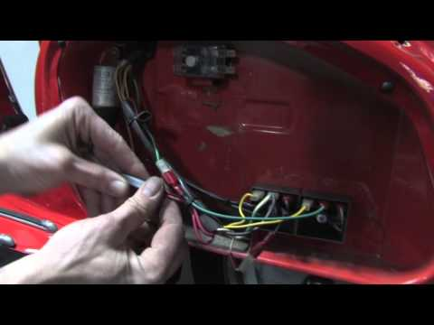 Convert a Vintage Vespa from DC to AC Electrical System