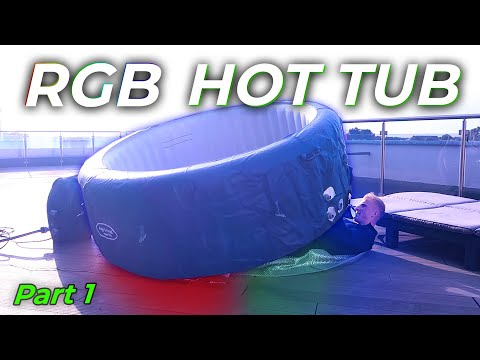 Building an RGB LED Hot Tub on my rooftop (Part 1)