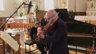 Mark Fewer, violin and Hank Knox, harpsichord