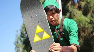 Legend of Zelda: The Skateboard of Time