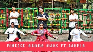BRUNO MARS - FINESSE [FT. CARDI B] | DANCE COVER | CHOREOGRAPHY BY ENETTE D'SOUZA & SHREYAS AMIN