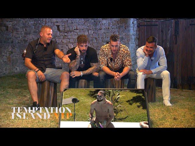 FKK-Show bei den Single-Männern lässt Willi Herren ausflippen   Temptation Island V.I.P. - Folge 02