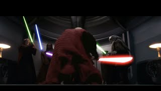 Mace Windu Vs Palpatine (Darth Sidious) Leg PT-BR, English Dub 1080p