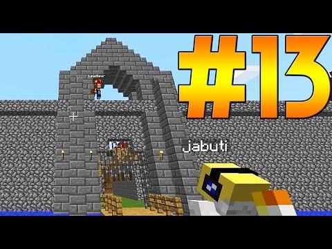 Minecraft Equipe Survival #13 - O PORTÃO DO TRIUNFO -  ft. Jabuti e Lipão