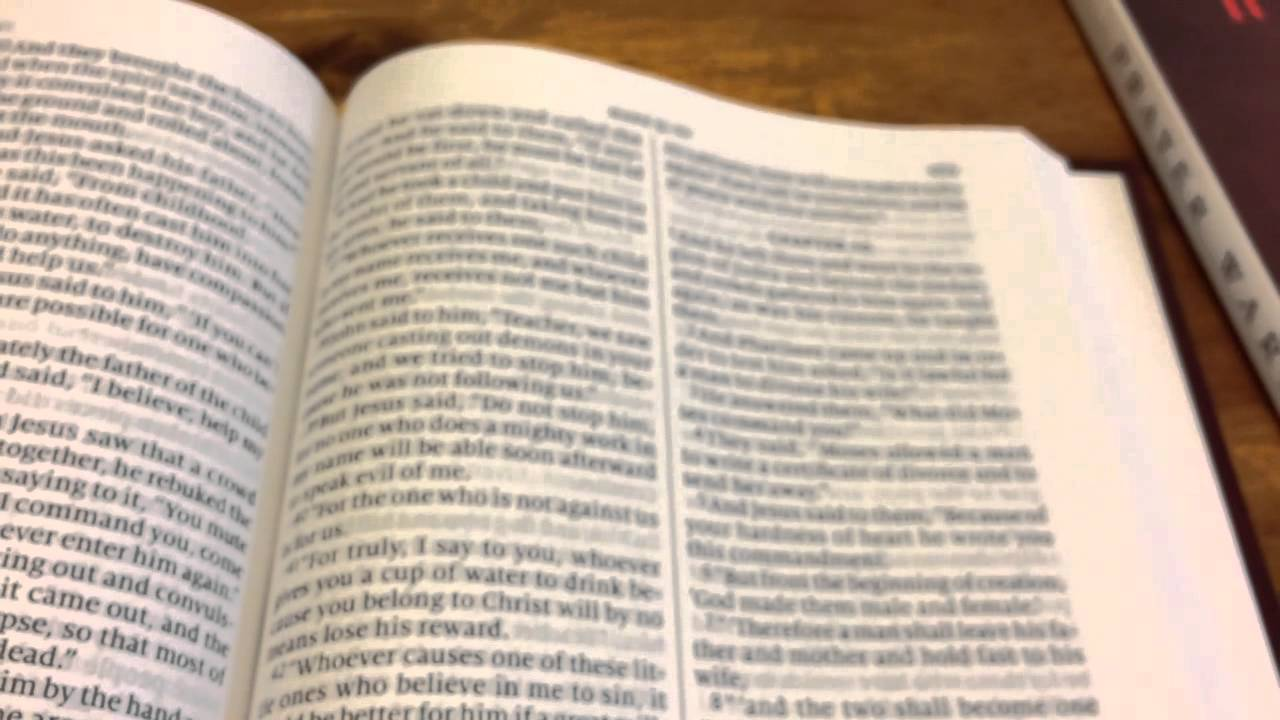 The Gideon ESV: A Textus Receptus Bible (English Standard Version Bible) in  verse-by-verse