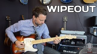 Wipeout by The Surfaris - Quick Guitar Lesson - How to Play