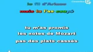Canción  Tu es foutu  de In Grid lyrics sous titres paroles    on screen