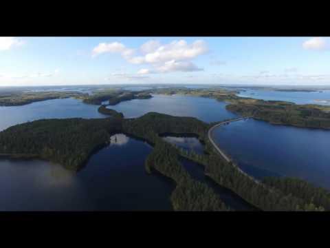 Самый красивый уголок Финляндии. Punkaharju