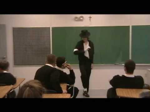 Michael Jackson Impersonation Halloween 2008