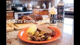 Cooking With Big Rich - Episode 22 Smoked Bacon Wrapped Meatloaf