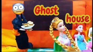 Ghost house/பேய் வீடு/barbie in tamil//tamil/ mini foods/Tamil toy tales#barbietiny#tinyfood#classic