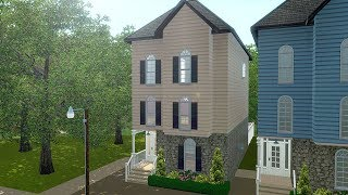 Building a Family House in The Sims 3 (Streamed 2/12/19)
