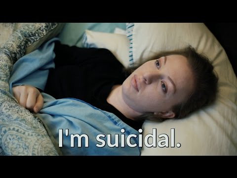 In the Gray Area of Being Suicidal