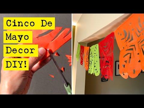 Easy Cinco De Mayo Banner Decoration
