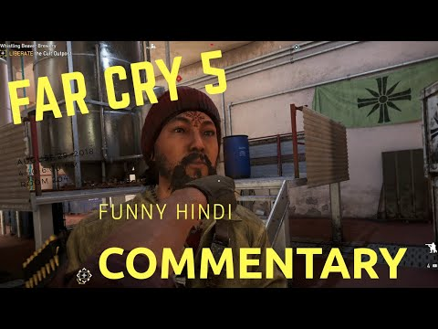 Far Cry 5 | Liberating F.A.N.G Outpost Funny Hindi | ProFessorOP Gaming |