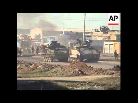 Insurgents ambush convoy of US and Iraqi troops, killing three Iraqis