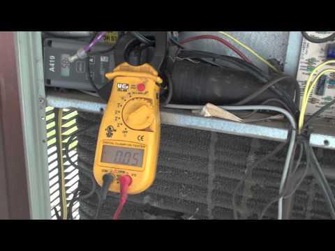 How to diagnose a locked rotor compressor